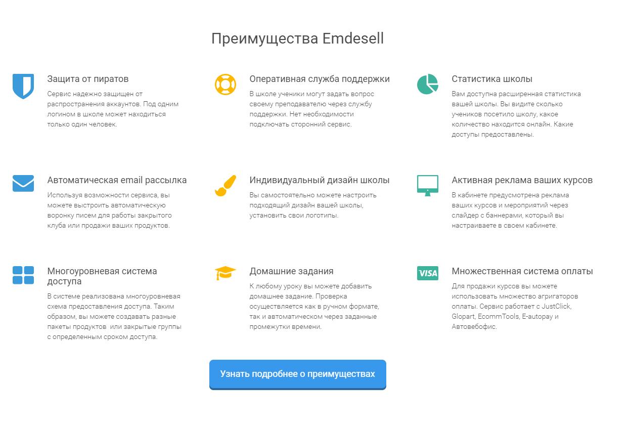 Сервис Emdesell обзор